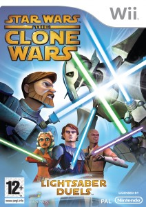 Star Wars: Clone Wars Light Sabre Duels: Nintendo wii  Pack Shot