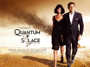 James Bond Quantum Of Solace Poster