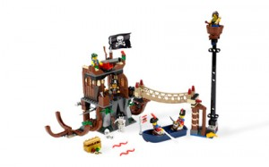 Shipwreck Hideout Lego Playset