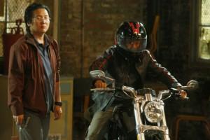 Masi Oka as Hiro Nakamura, James Kyson Lee as Ando Masahashi - thanks to NBC Universal