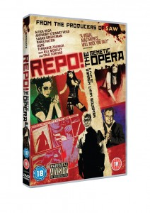 Repo! The Genetic Opera - A must if you want to see Paris Hilton?s face fall off and Sarah Brightman claw her eyes out.