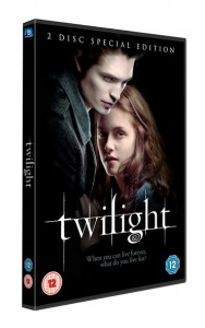 Twilight is available on DVD and Blu Ray April 6
