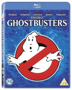 Ghostbusters on Blu Ray