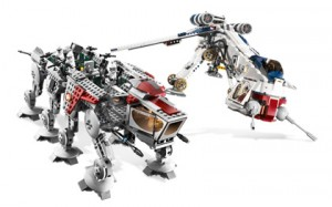 Star Wars Lego Dropship and ATOT