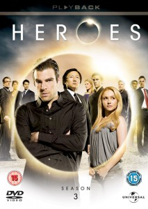 Heroes Series 3 Blu Ray and DVD
