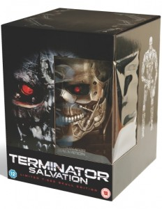 Limited Edition Terminator Salvation DVD Boxed Set