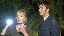 Lindsay Duncan and David Tennant in Doctor Who Waters Of Mars