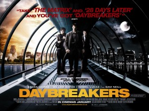 Daybreakers Cinema Poster