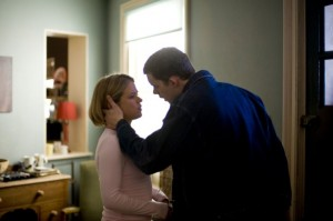 Picture shows: (l-r) SINEAD KEENAN as Nina, RUSSELL TOVEY as George. Episode 1.