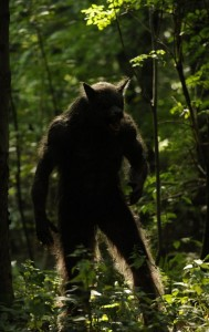George as a werewolf. Episode 1. Series 2 Being Human