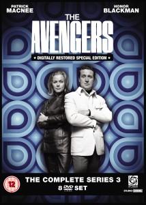 Avengers Series 3 DVD