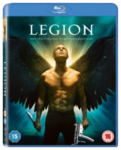 Legion on Blu Ray, DVD Also Available