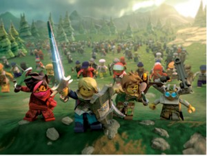 Kick Some Brick in this Online RPG from LEGO