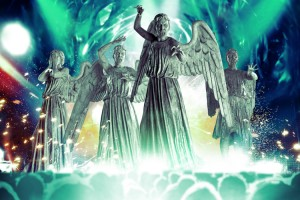 Meet the Weeping Angels on stage