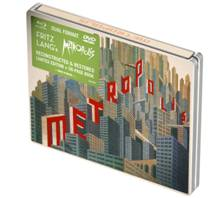 UPDATED Metropolis New Version DVD and Blu Ray Covers