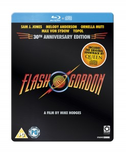 Flash Gordon Steel Book Blu Ray