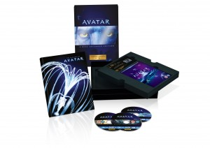 Avatar Exclusive Collectors Edition Blu ray Boxset exploding packshot