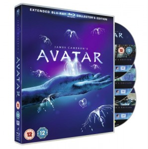 James Cameron's Avatar Extended Blu Ray
