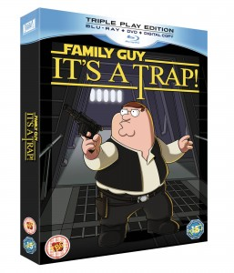 Family Guy spoof Star Wars Trilogy, It?s A Trap, comes exclusively to Blu-ray, DVD and Digital Copy