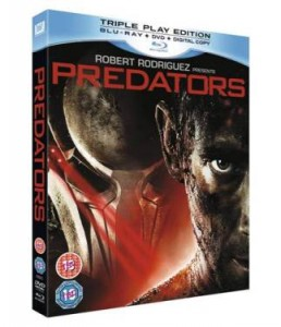 Predators Blu-ray DVD Digital package