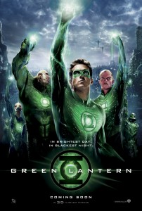 Green Lantern Movie Poster - Fists Up