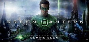 Green Lantern Wondercon Quad Poster