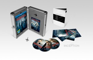 limited edition Blu-ray briefcase plus Triple Play and DVD releases of Inception
