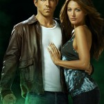 Ryan Reynolds with Blake Lively in Green Lantern
