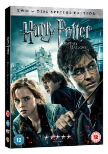 Harry Potter Deathly Hallows pt 1 DVD / Blu Rayassociated image