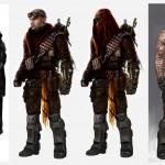 Red Faction Armageddon Concept Artwork: Darius Lineup