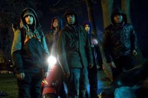 Attack the Block cast shot
