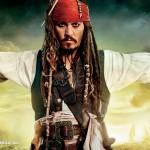 Pirates of Carribean: On Stranger Tides! Johnny Depp as Captain Jack Sparrow