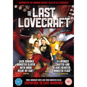 The Last Lovecraft UK DVD art
