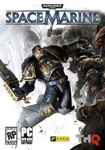 The Warhammer® 40,000®: Space Marine® PC Standard Edition Packshot