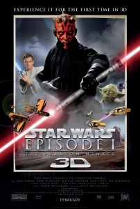 Star Wars 3D Official NEW Posterassociated image