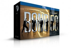 JAMES BOND CELEBRATES FIFTY INCREDIBLE YEARS  WITH GOLDEN ANNIVERSARY BLU-RAY COLLECTION