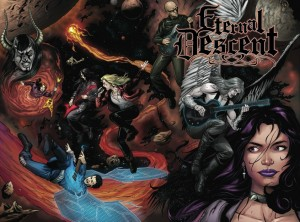 ETERNAL DESCENT VOLUME 2 immerses fans in a dark fantasy world where demons and angels battle for supremacy.