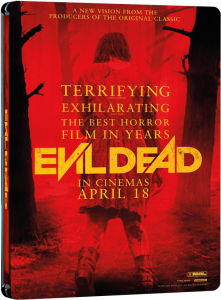 View large image  Evil Dead - Zavvi Exclusive Limited Edition Steelbook (Includes DVD) Blu-ray