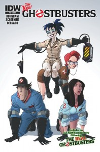 The New Ghostbusters #2 IDW ComicBook