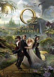 Oz, The Great and Powerful is crammed full of the sort of visual mania you want to see from Raimi