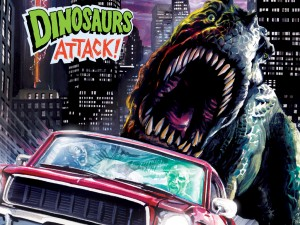 Topps' classic card series DINOSAURS ATTACK! will be completed in Comic Book form