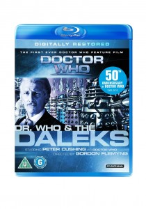 Dr Who And The Daleks (Digitally Restored) Blu Ray Cover