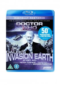 Daleks' Invasion Earth 2150 A.D. (Digitally restored) Blu Ray Cover