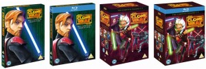 STAR WARS: THE CLONE WARS Seasons 1-5 Collectors Edition
