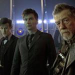 Day of the Doctor-The Three Doctors Matt Smith, John Hurt and David Tennant