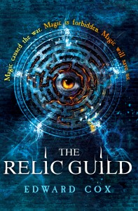 THE RELIC GUILD is the first in an epic series, following a young woman who must control her magic and escape her prison