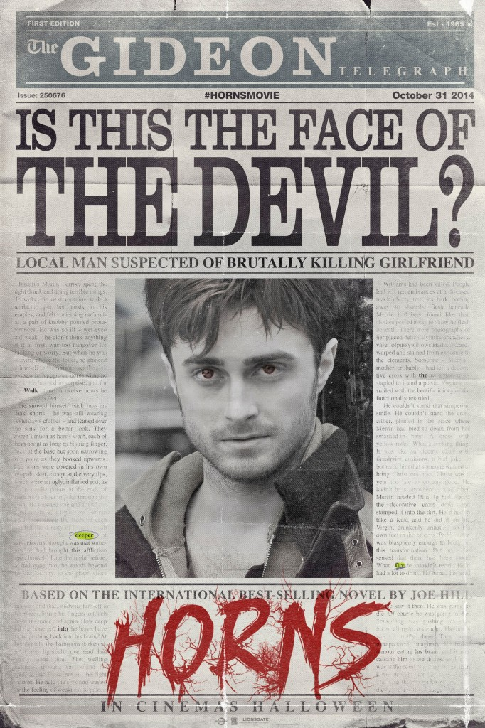 HORNS UK TEASER POSTER