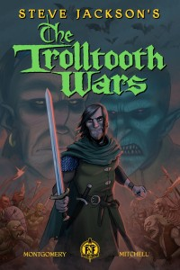 The Trolltooth Wars. Front cover, by Gavin Mitchell