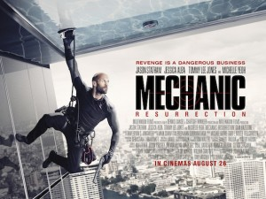Mechanic: Resurrection - Official Poster
