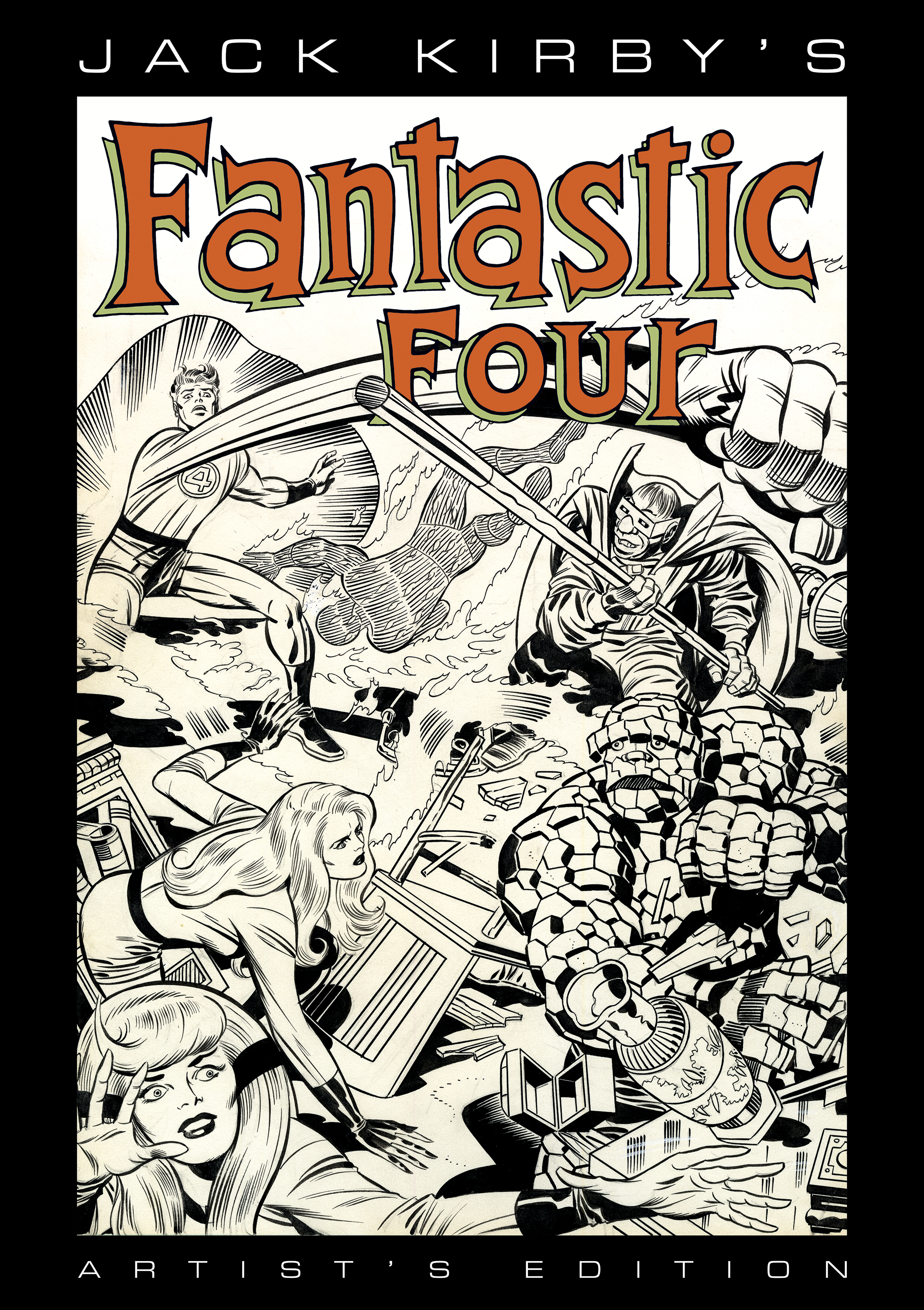 Jack Kirby's Fantastic Four Artist's Edition